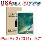 "2 x Apple iPad Air Pro Mini 7.9"" 9.7"" 10.2"" 10.5 Tempered Glass Screen Protector"