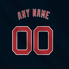 Cleveland indians Home Navy MLB jersey Any Name Any Number Pro Lettering Kit