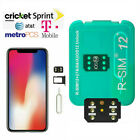 R-SIM12+14+15 Nano Unlock RSIM Card for iPhone 11/11 Pro/XS/X/8/7/6 iOS 12.4 13