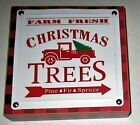 CHRISTMAS ASSORTED  SIGNS   7* x 7* x 1.5* [Your Choice] Free Standing