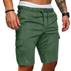 Stylish Mens Summer Shorts Gym Sport Running Workout Cargo Pants Jogger Trousers