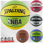 Official NBA Game Basketball Training Size 6 7 Outdoor Rubber Spalding Varsity