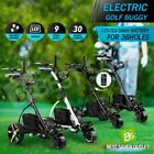 Electric Golf Buggy 3 Wheel Golf Trolley Automatic Motorized Foldable Cart New