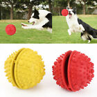 Rubber Dog IQ Treat Ball Nontoxic Bouncy Pet Tooth Cleaning Toy for Chewing
