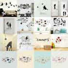 Family Quote Removable Wall Sticker Art Vinyl Decal Mural Home Bedroom Decor New