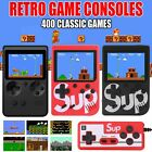 built in 400 games 3 mini tv handheld retro fc game console 8 bit classic uk