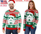US Christmas Couple Xmas Star Wars Women Men Shirt Jumper Pullover Tops costumes $12.87 USD on eBay