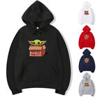 Cute Baby Yoda Mandalorian Star Wars Men Women Print Hoodie Sweatshirt Pullover $16.98 USD on eBay