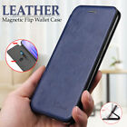 For Apple Iphone 6s 7 8 Plus Magnetic Case Flip Leather Wallet Card Slot Cover