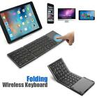 Folding Bluetooth Keyboard Wireless Keypad with Touch Pad for iOS Android Win