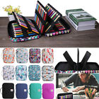 220 Slots Large Capacity Pencil Case Holder Watercolor Pencils Organizer Bag