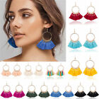 Bohemian Earrings Long Tassel Fringe Boho Dangle Earrings Womens Fashion Jewelry