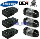 Original Samsung Galaxy S8 S9 S10+ Note9 10 OEM Adaptive Fast Rapid Wall Charger