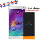 AceSoft 7220mAh Battery or Home Charger for Samsung Galaxy Note 4 SM-N910A/V/P/T
