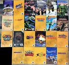 Authentic Nintendo 64 N64 Manuals Booklets - Good - 30+ to Pick From, You Choose
