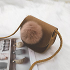 Women Shoulder Bag Casual Crossbody Pack With Ball Sling Satchel T