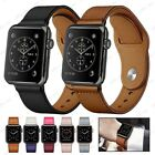 38/40/42/44mm Genuine Leather iWatch Loop Band  For Apple Watch Series 5 4 3 2 image