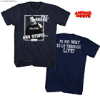 Animal House T-Shirt / John Belushi 'Bluto' FAT DRUNK AND STUPID T-Shirt