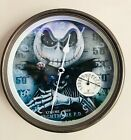 9 Wall Clocks with Thermometer
