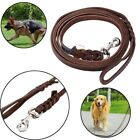 Soft Braided Leather Dog Pets Leash Lead for Training Walking Dog N7Z