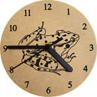 'Frog' Printed Wooden Wall Clock (CK006605)