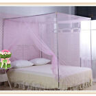 Mosquito-Net Full Queen King Size Box Bed Fly-Insect Bug Protection Netting MA image