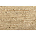 Country Farmhouse Table Runner Kitchen Dining Square Round Jute Tan Braided