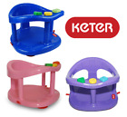 KETER Baby Bath Seat Ring Chair Tub Infant Bathtub Anti Slip FREE FAST SHIPPING