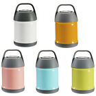 Stainless Steel Insulated Food Soup Braised Pot Portable Travel Mini Handle H4o3