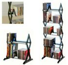 Media Shelf Tier DVD Tower Rack Game CD Display Organizer Stand Holder