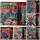 New Marvel Comics Trifold Chain Wallet In Collectible Gift Box