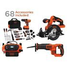 BLACK+DECKER 20V MAX Drill and Home Tool Kit, 68 Piece with Choosing Another Tools