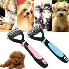 Pet Undercoat Rake Dematting Comb Grooming Stripping Brush Tool for Dog Puppy