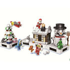 New CHRISTMAS Sets Village Train Hot Air Balloon Building Blocks TOYS 4 Children