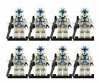 Clone Trooper Minifigure Army LEGO Compatible Clones 501st Minifig Multi Colours