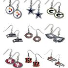 NFL Dangle Earrings - Pick Your Team $5.99 USD on eBay