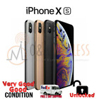 Apple iPhone XS 64GB   256GB  512GB A1920 Factory Unlocked Excellent Condition