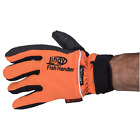 Lindy Fish Handling Glove Orange Single Glove for Handling Toothy Fish Species