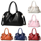 Women PU Shoulder Handbag Bag Ladies Tote Messenger Satchel Crossbody Purse image