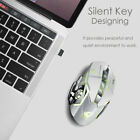 Wireless Optical Gaming Mouse Rechargeable Mice + USB Receiver for PC Laptop