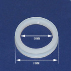 58mm Silicone Silica Gel Sealing O Ring For Solar Water Heater Vacuum Tube