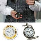 Classic Steampunk Smooth Surface Pendant Chain Retro Pocket Watch Clever image