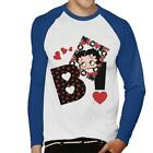 Betty Boop Heart Elements Men's Baseball T-Shirt £19.95 GBP on eBay