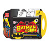 Batman Rolling Art Desk with Markers/Pencils/Stickers/Paper/Storage Station 3+ Y