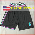 NEW Miami Heat Vintage Men's NWT Stitched Basketball Game Shorts Dwyane Wade on eBay