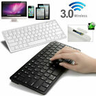 US Universal Wireless 3.0 Slim Keyboard for Android Windows iOS Tablet PC Laptop
