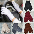 Kyпить Summer Women Dots Sun UV Protection Cotton Lace Anti-skid Driving Gloves на еВаy.соm