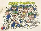 MLB Party Bashers Oakland Athletics Caricature T-Shirt Reprint Gildan DD2392 image