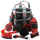 Horse Grooming Kit - Grooming Bag & Set Of 8 Brushes For Horses & Ponies <br/> FREE Shipping | 30 Day Money Back | Fast Dispatch