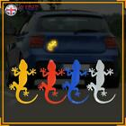 Car Reflective Sticker Gecko  Reflector Tape Auto Warning Mark Strip Light UK